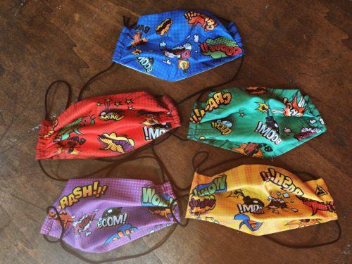 pack de 5 mascarillas infantiles