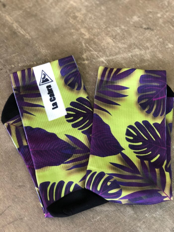 calcetines tropical fluo